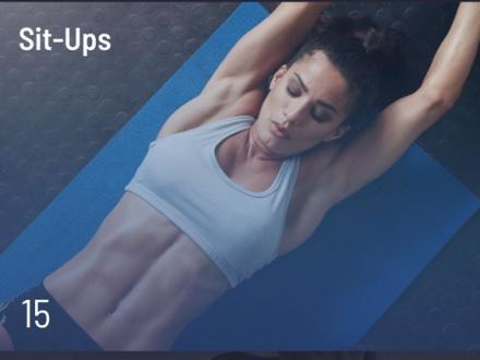 Screenshot von 30 Tage Fitness Challenge