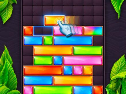 Screenshot von Jewel Blast  Block Drop Puzzle