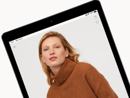 Screenshot von H&M - we love fashion