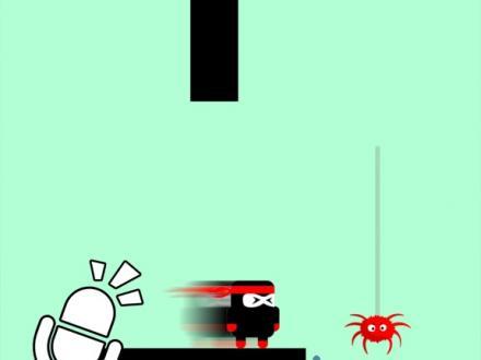 Screenshot von Scream Fat Ninja - Hero Go!
