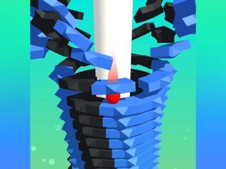 Screenshot von Stack Ball 3D
