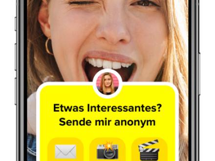Screenshot von F3 - anonyme Fragen, Chat