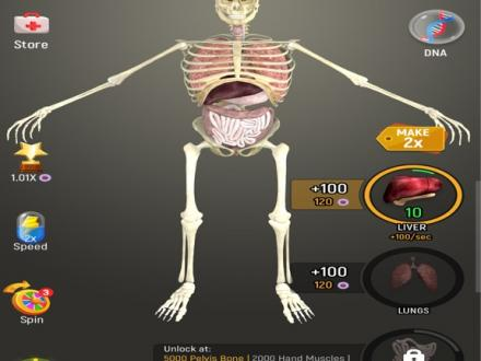 Screenshot von Idle Human
