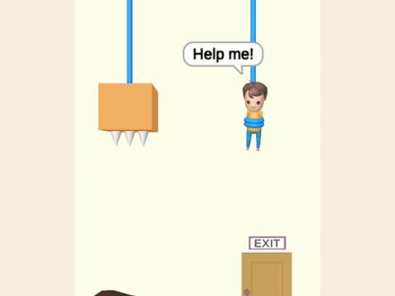 Screenshot von Rescue Cut - Rope Puzzle