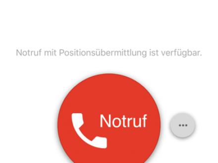 Screenshot von hessenWARN
