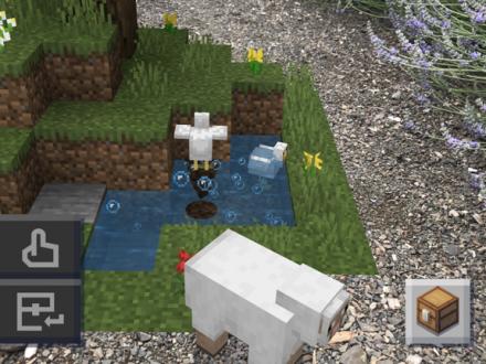 Screenshot von Minecraft Earth