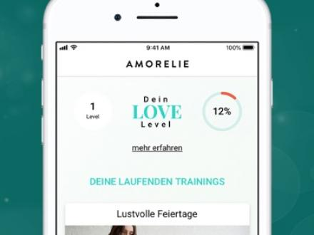 Screenshot von AMORELIE Love Trainer