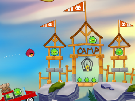 Screenshot von Angry Birds Seasons