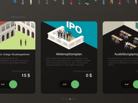 Screenshot von Coffee Inc: Business Tycoon