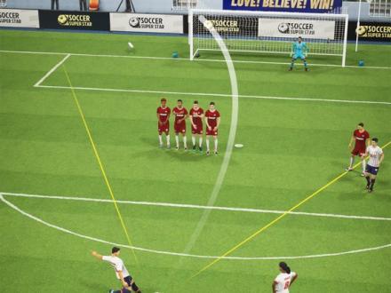 Screenshot von Soccer Super Star - Fussball
