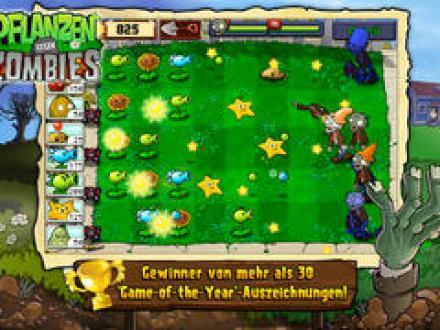 Screenshot von Pflanzen gegen Zombies