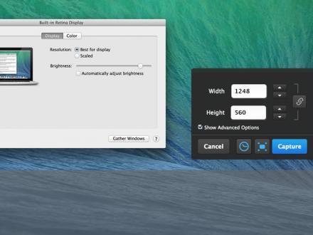 Screenshot von Skitch